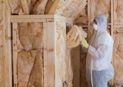 Isolation de mur à la laine à Laval -  Isolation Laval